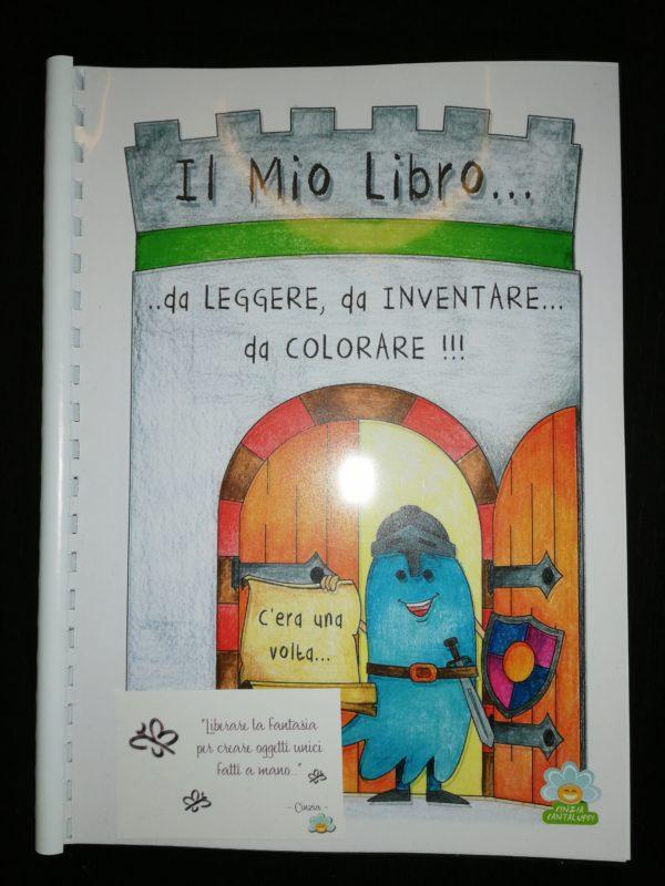 libro da leggere colorare inventare
